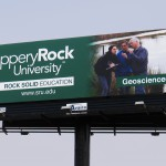 Billboard located on Interstate 79, northbound side.